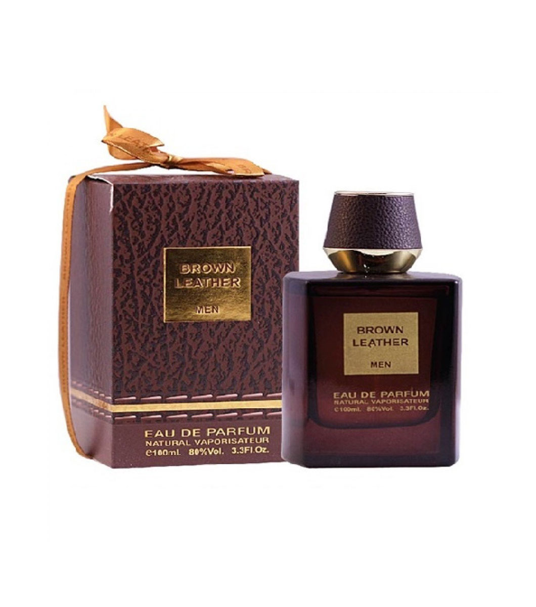Brown Leather Edp 100ml By Fragrance World